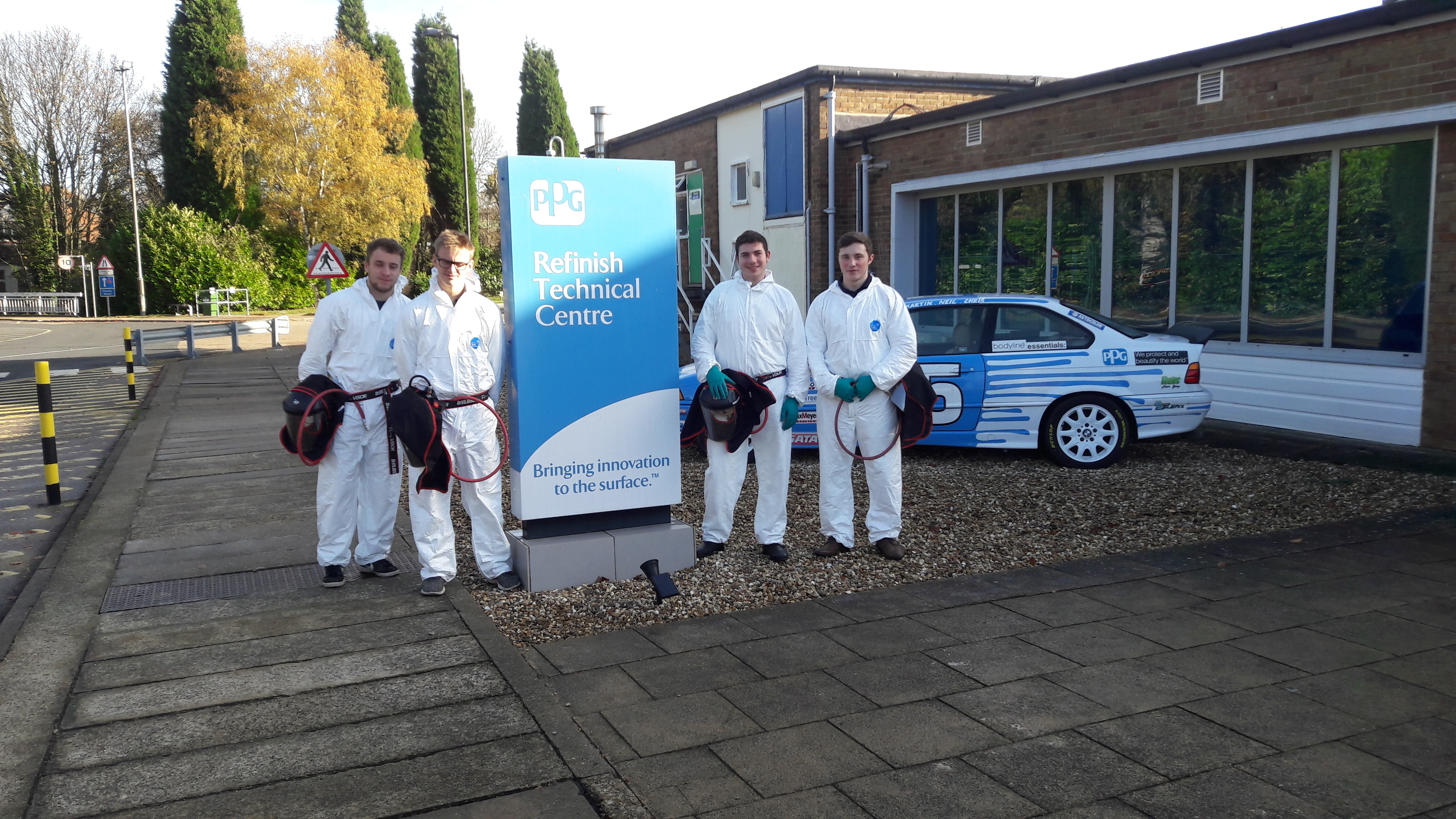 PPG support AW Apprentices