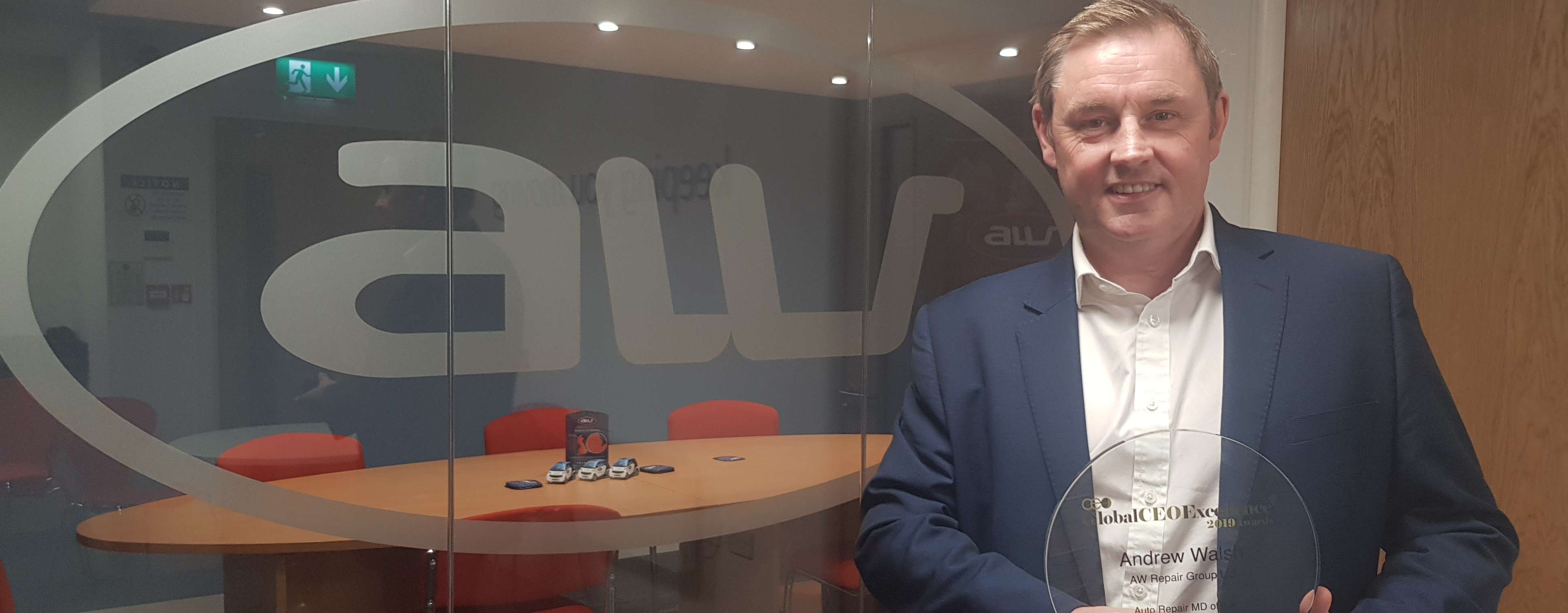 AW director receives global business leader award