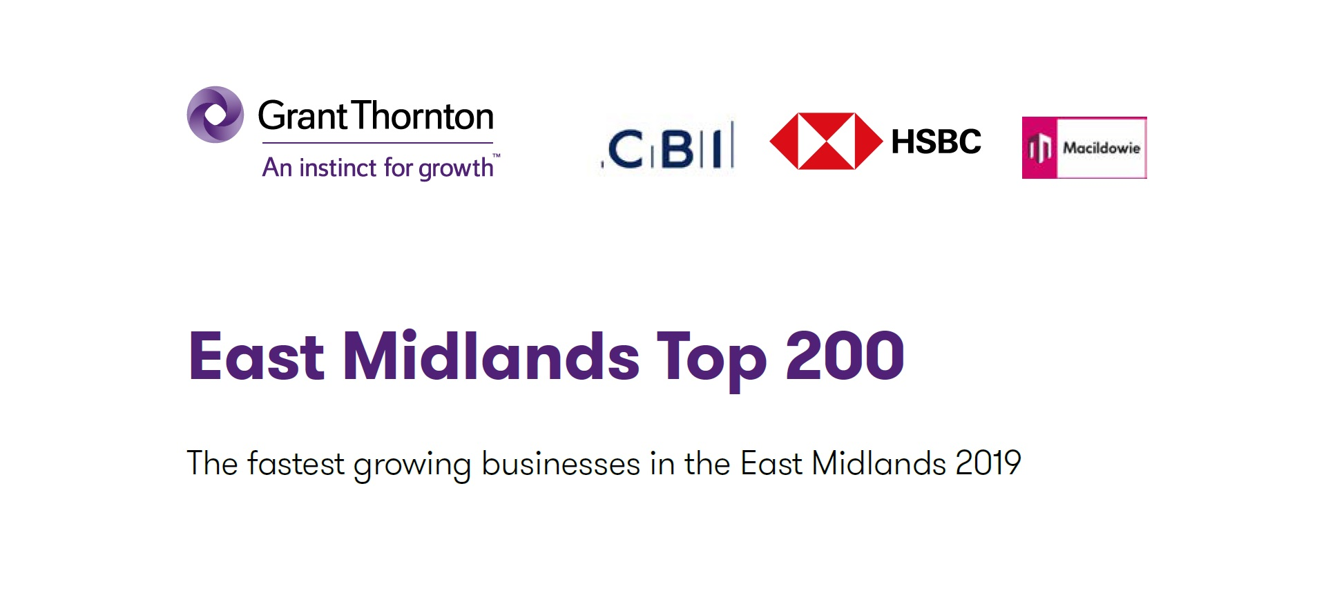 AW Group listed in Top 200 Fastest Growing Business in East Midlands